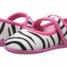 Foamtreads Kids Ziggy (Toddler/Little Kid) (White/Black) Girl's Shoes