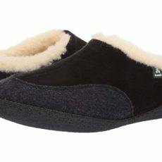 Kamik Cabin (Black) Men's Slippers