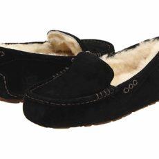 UGG Ansley (Black) Women's Slippers