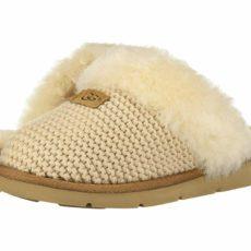 UGG Cozy Knit Slipper (Cream) Women's Slippers