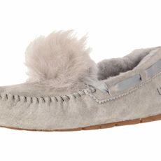 UGG Dakota Pom Pom (Seal) Women's Flat Shoes