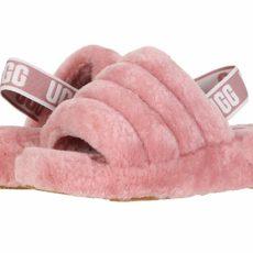 UGG Fluff Yeah Slide (Pink Dawn) Women's Slippers