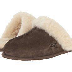 UGG Scuffette II Water-Resistant Slipper (Espresso (Suede)) Women's Slippers