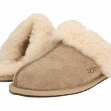 UGG Scuffette II Water-Resistant Slipper (Sand (Suede)) Women's Slippers