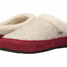 Acorn Mule Ragg (Charcoal Heather) Women's Slippers