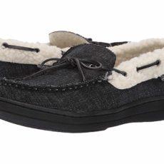 Ben Sherman Jeffery Slipper (Black Denim) Men's Shoes
