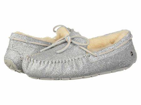 UGG Dakota Sparkle Slipper (Silver) Women's Slippers