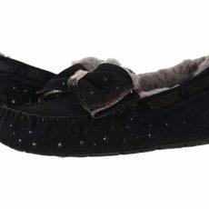 UGG Dakota Stargirl Slipper (Black) Women's Slippers