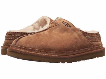 UGG Neuman (Chestnut) Men's Clog Shoes