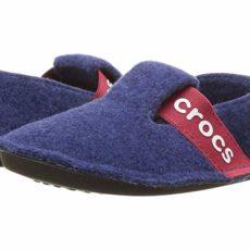 Crocs Kids Classic Slipper (Toddler/Little Kid) (Cerulean Blue) Kids Shoes