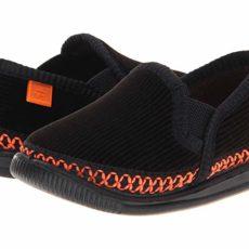 Foamtreads Kids Innsbruck (Toddler/Little Kid/Big Kid) (Black/Orange) Kids Shoes