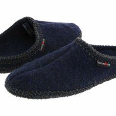 Haflinger AS Classic Slipper (Blue) Slippers