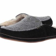 OluKai Alaula (Fog/Black) Women's Slippers
