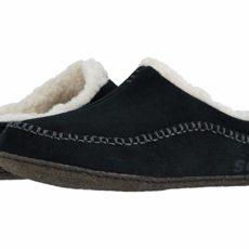 SOREL Falcon Ridgetm II (Black/Dark Stone) Men's Slippers