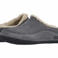 SOREL Falcon Ridgetm II (Quarry/Black) Men's Slippers
