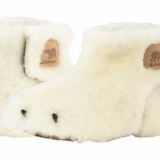 SOREL Kids Bear Paw Slipper (Toddler/Little Kid) (Sea Salt/Beach) Kids Shoes