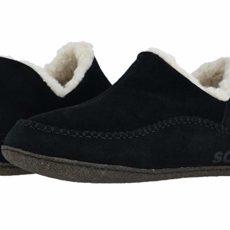 SOREL Manawantm II (Black/Dark Stone) Men's Slippers