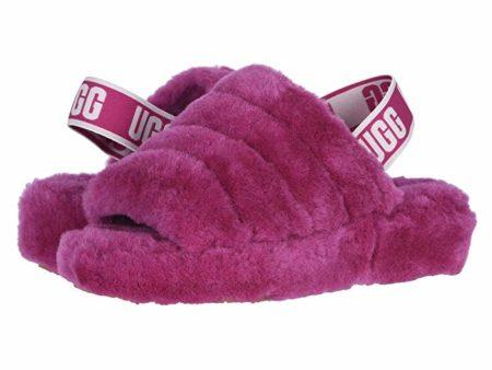 UGG Fluff Yeah Slide (Fuchsia) Women's Slippers