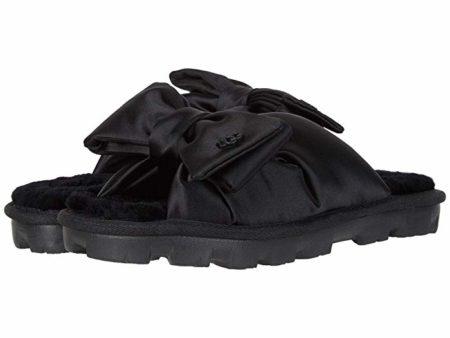 UGG Lushette Puffer (Black) Women's Slippers