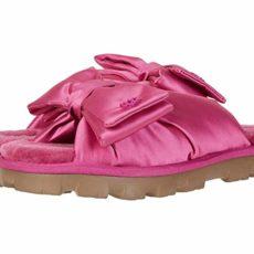 UGG Lushette Puffer (Fuchsia) Women's Slippers