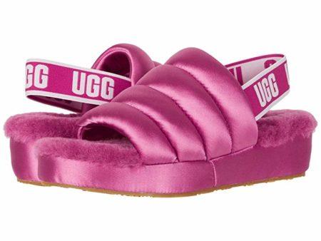 UGG Puff Yeah (Fuchsia) Women's Slippers