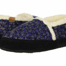 Acorn Kids L'il Jam Moc (Toddler/Little Kid/Big Kid) (Blueberry) Kids Shoes