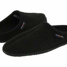 Haflinger AS Classic Slipper (Black) Slippers