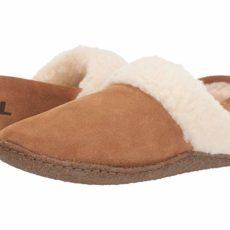 SOREL Nakiskatm Slipper II (Camel Brown 2) Women's Slippers