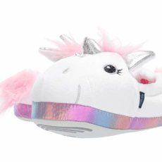 Stride Rite Molly Lighted Magic Unicorn (Toddler/Little Kid) (White) Girl's Shoes